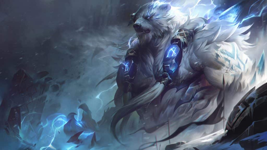 Volibear Rework Splash Art
